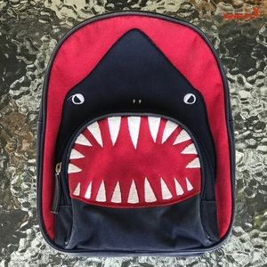Pottery Barn Kids Shark Bite Backpack